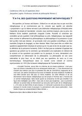 Fichier PDF conference y a t il des questions proprement metaphysiques