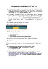 procedure inscription internet bfam 2012 2013