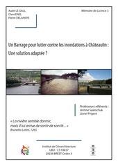 le barrage de ch teaulin