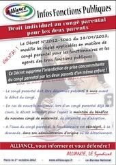 01 10 2012 info conge parental