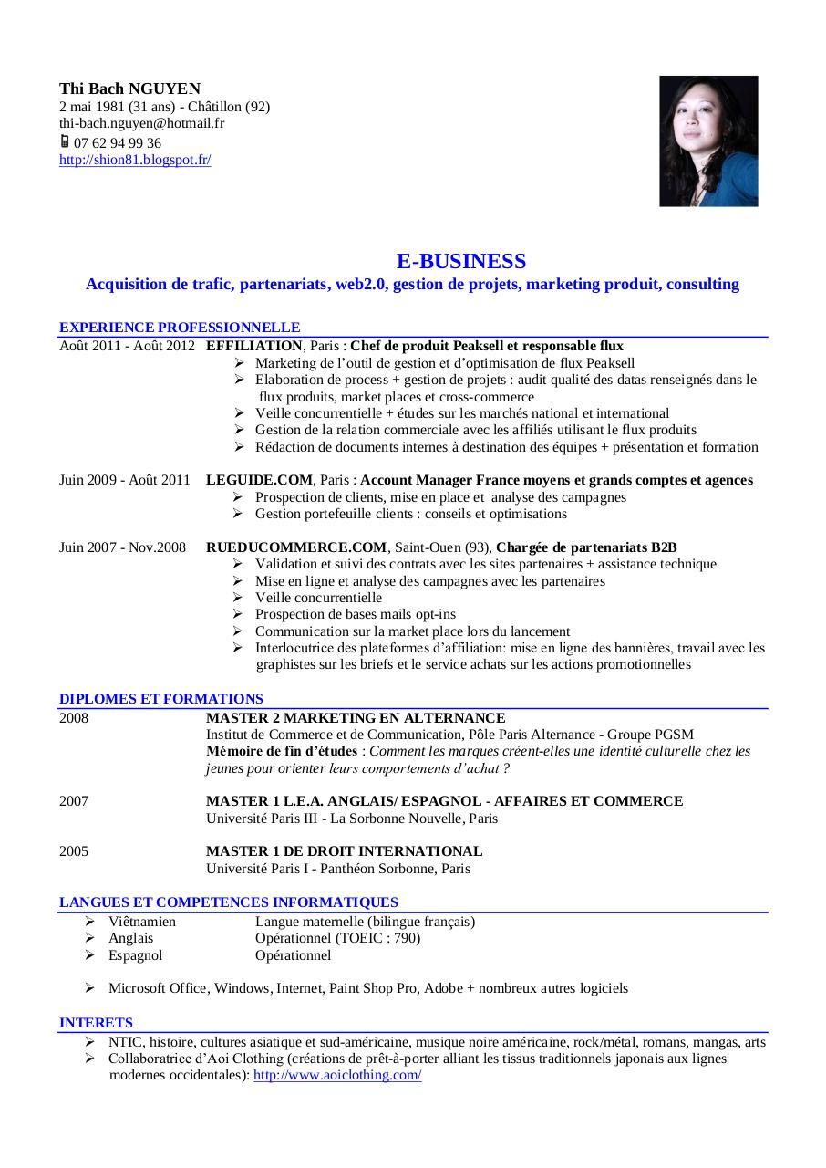 resume format  pr u00e9sentation cv am u00e9ricain