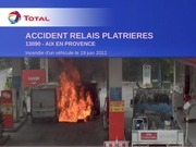 feu station platrieres codir 03 09 2012