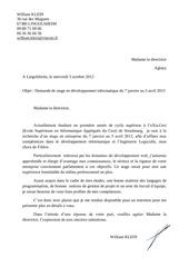 Fichier PDF lettre de motiv