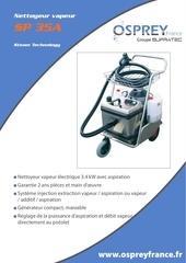 sp35a nettoyeur vapeur electrique aspiration