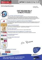 Fichier PDF communique presse eric brunson david heulin east belgian rally a