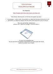 Fichier PDF tutoriel enveloppe