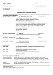 Fichier PDF cv rjankovic