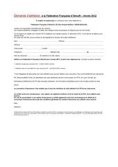 Fichier PDF adhesion 2012