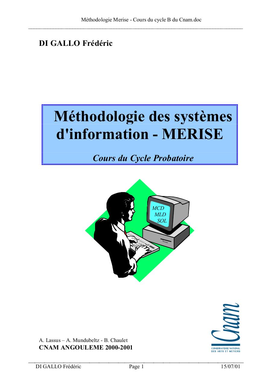 cours merise format pdf