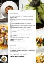Fichier PDF carte menu