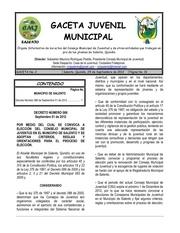 gaceta juvenil municipal 2