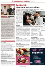 le journal des entreprises octobre 2012