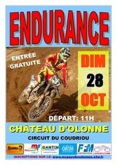 programme endurance 2012