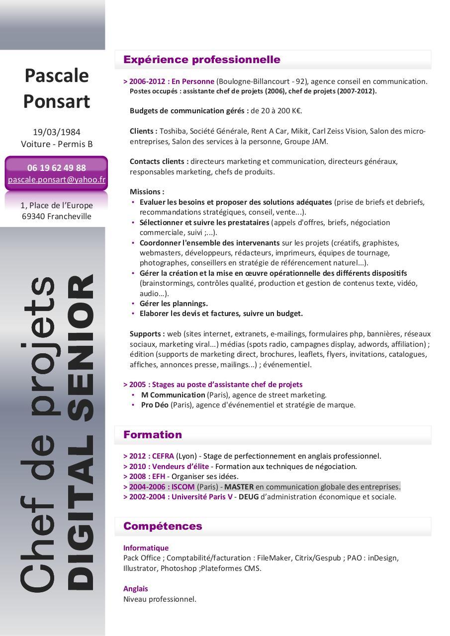 cv cp digital senior p ponsart par pascale