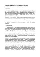 Fichier PDF expose sur antonin artaud