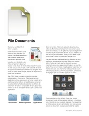 Fichier PDF pile documents