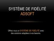systeme de fidelite adsoft
