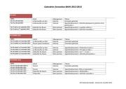 calendrier stage bafa 2012 2013