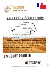 dossier de sponsoring 4l trophy