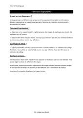 Fichier PDF faire un diaporama