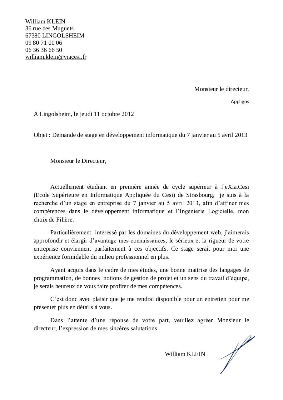 lettre de motiv par zboub - page 1  1