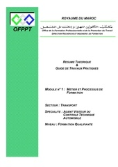 m01 metier et processus de formation 1