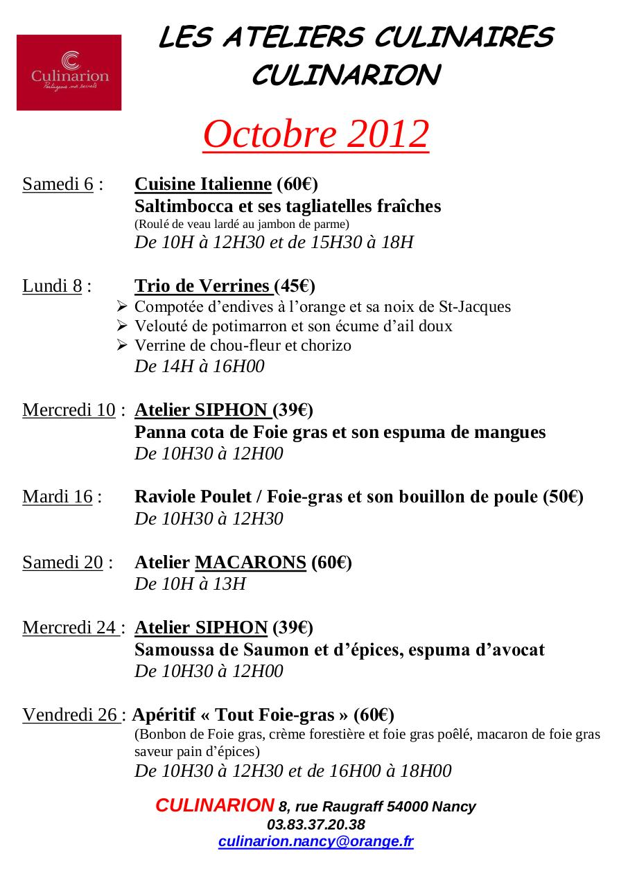 Aperçu du document Culinarion Octobre 2012-.pdf - page 1/1