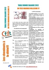 tract accord salarial 2012 cfdt