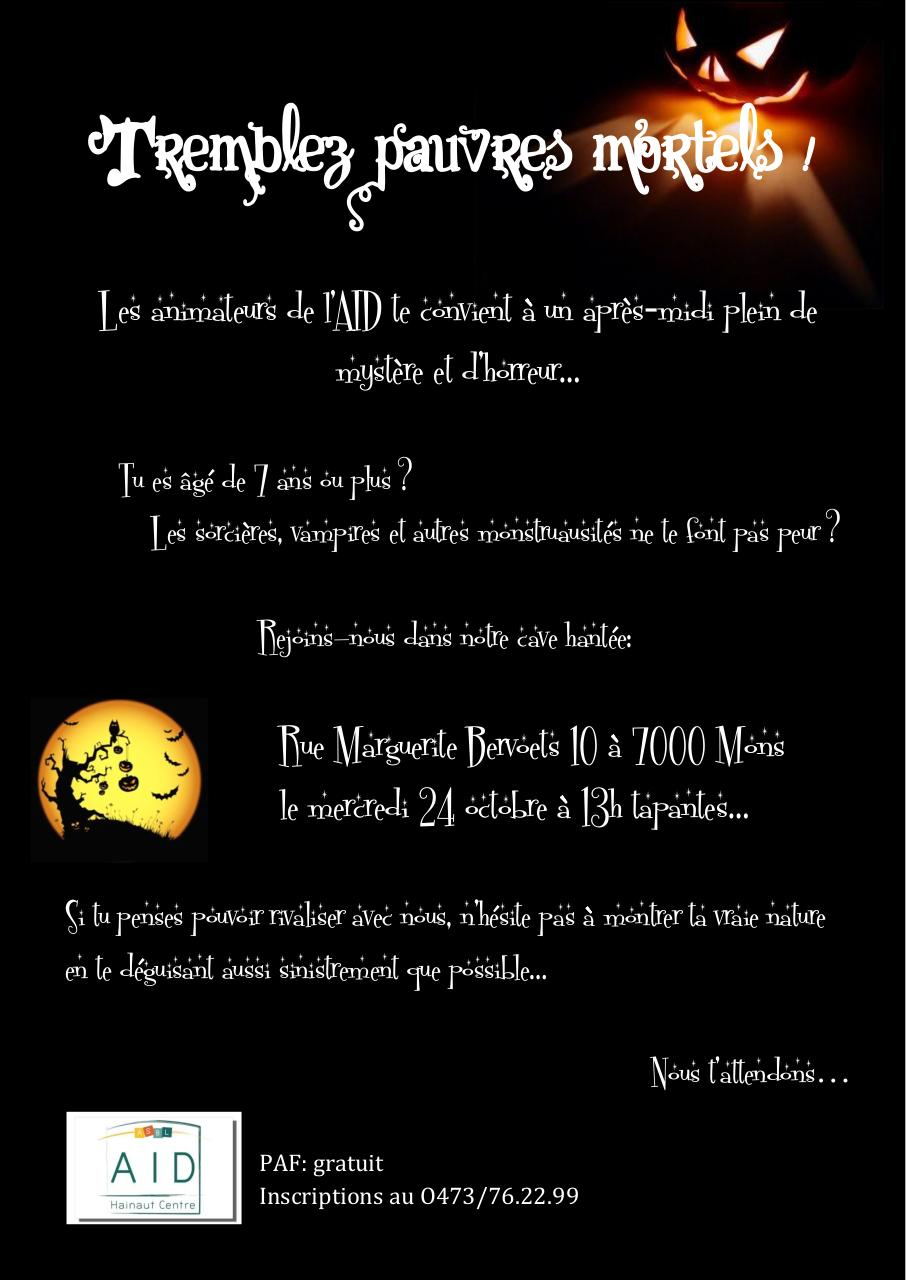 Texte carte invitation halloween - Image d halloween gratuite ...