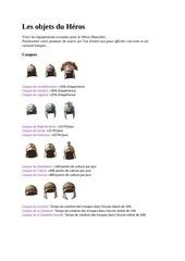 Fichier PDF les objets du heros heroine3