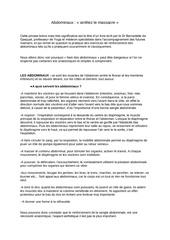 Fichier PDF abdominaux