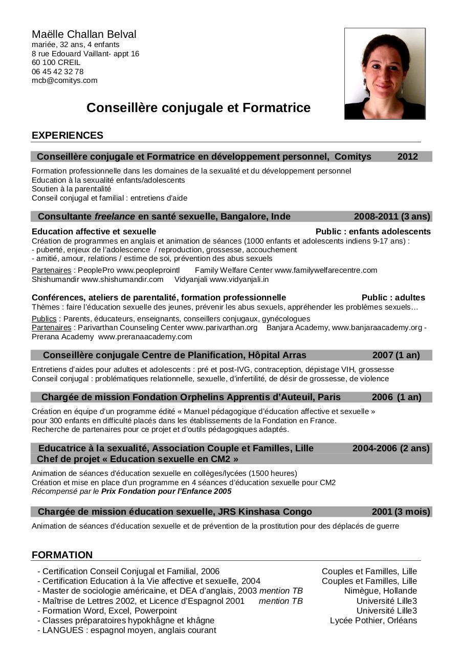 cv ma u00eblle challan belval comitys pdf par ma u00eblle challan