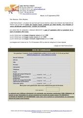 Fichier PDF bon de commande lasagne 2012