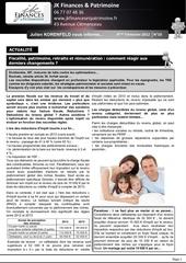 newsletter 4emet 2012