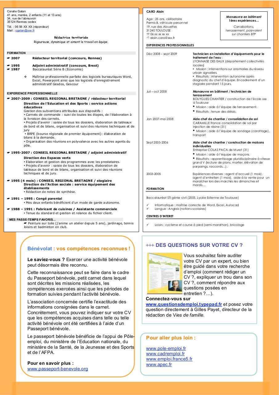 untitled -  modeles de cv pdf