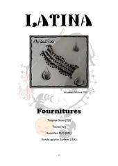 Fichier PDF bracelet latina