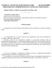 criminal code morocco