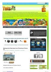 Fichier PDF montage photo deep impact avec photoshop et cinema 4d