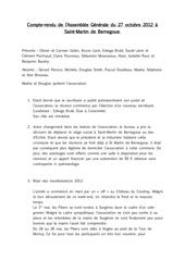 compte rendu ag piliers 2012