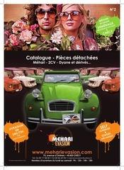 catalogue pieces 2cv mehari evasion 2012 2013