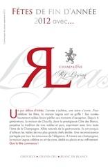 champagne rl legras fetes 2012