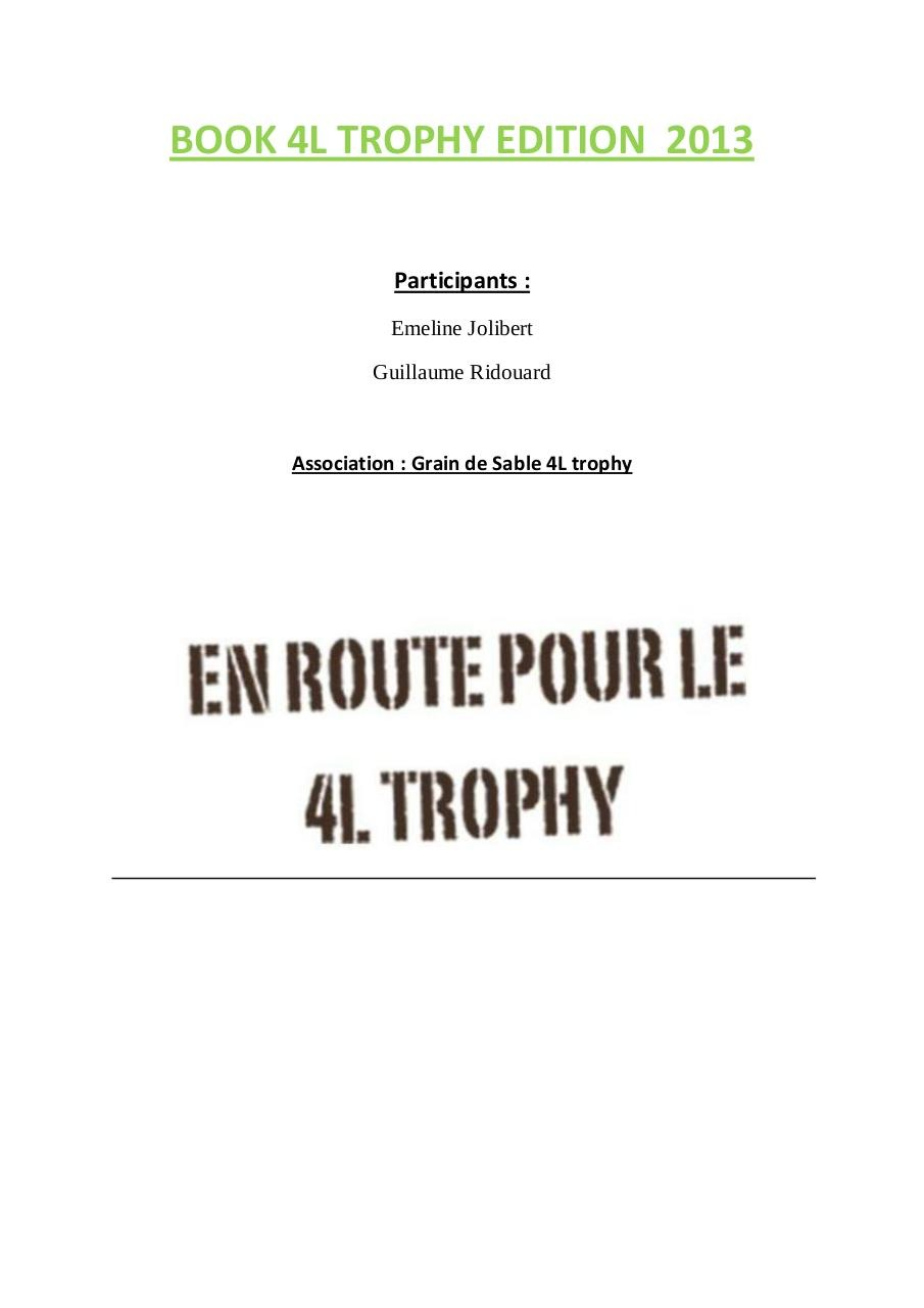 BOOK 4L TROPHY EDITION  2013.pdf - page 1/15