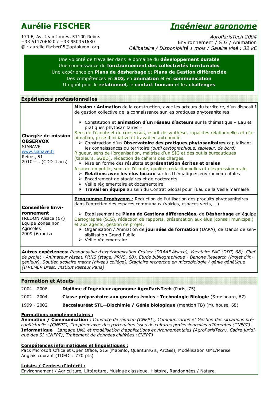 composition1 pub par aurelie fischer - cv horizonova pdf