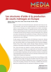 les aides aux courts metrages en europe