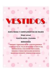 Fichier PDF catalogo vestidos