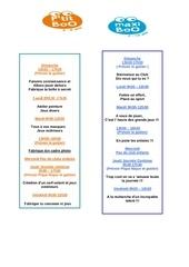 Fichier PDF programme enfant