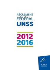 reglement federal 021012 1349284322154