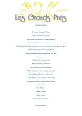 menu 32 euros