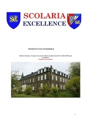 dossier scolaria excellence 2013