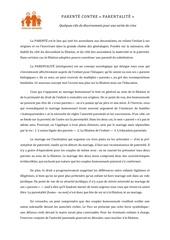 Fichier PDF parente contre parentalite